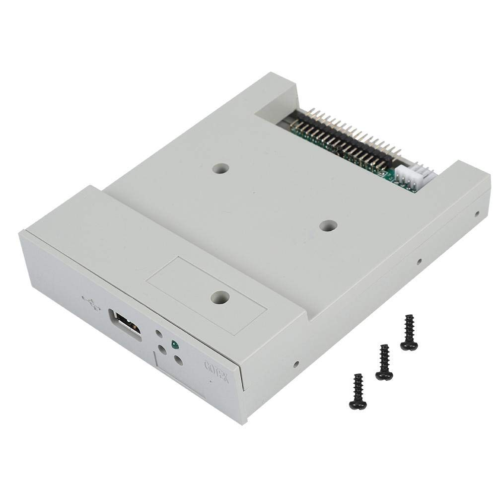 fosa USB Floppy Emulator, SFR1M44-U 3.5In 1.44MB USB SSD Floppy Drive Emulator Updated Version USB Flash Plug and Play with CD Screws for Floppy Disk Drive Industrial Control Equipment by fosa (Image #1)