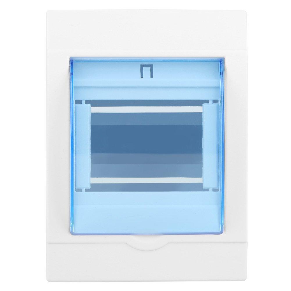bo/îte de protection en plastique de la distribution 1pc pour le disjoncteur de 3-4 mani/ères dint/érieur sur le mur Bo/îte de distribution