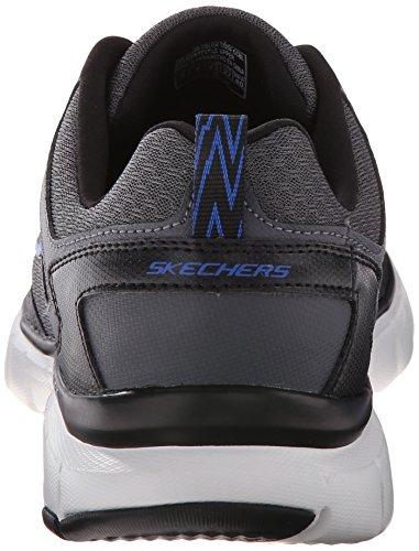 SkechersSkech-flex Power Alley - Zapatillas De Deporte Para Exterior hombre gris/azul