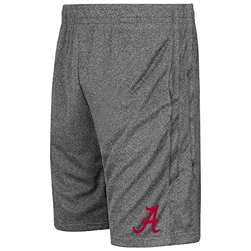 Colosseum NCAA Youth-Boys and Girls-Athletic Training Shorts-Heather Grey – Sports Center Store