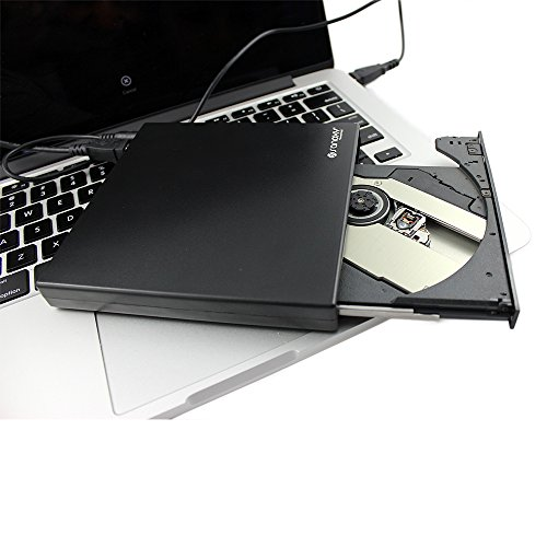 SANOXY SANOXY-COMBO-DVD-WRT New Slim USB 2.0 External Cd Row, Black