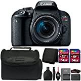 Canon EOS Rebel T7i DSLR Camera with 18-55mm Lens and Accessory Bundle