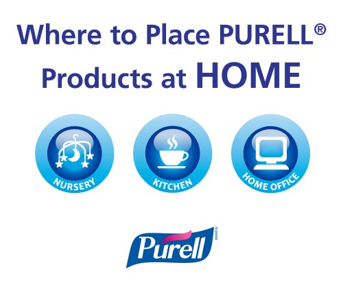 PURELL 579204CT Advanced Non-Aerosol Foaming Hand Sanitizer, w/Moisturizers, 18oz Pump Bottle (Case of 4) by Purell (Image #8)