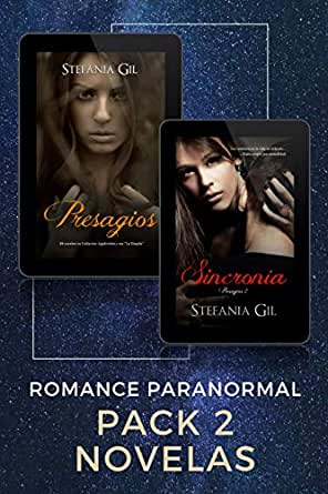 Presagios y Sincronía: Pack de 2 novelas de Romance Paranormal eBook: Gil, Stefania, Design, Cover: Amazon.es: Tienda Kindle