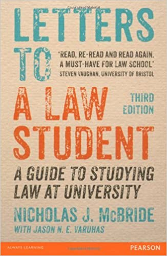 Letters to a Law Student- top 10 books to read- strictlyLegal