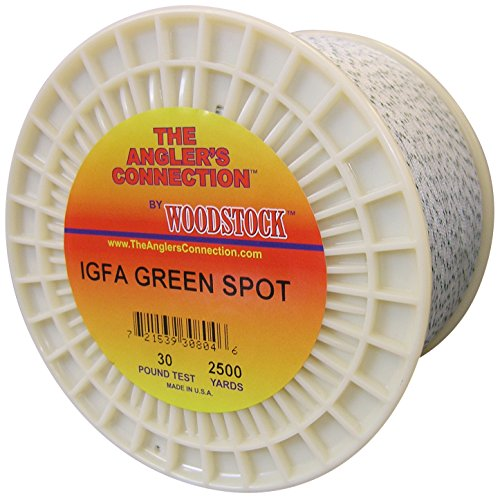 Woodstock IGFA Dacron Fishing Line, 100 Yards/130# Test, GreenSpot
