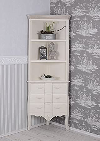 ANTIK RETRO ANTIK ECKREGAL WEISS LANDHAUSSTIL VINTAGE PALAZZO ...