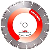 MK Diamond 154250 7-Inch Dry Cutting Segmented Saw Blade with 5/8-Inch Arbor for Masonry
