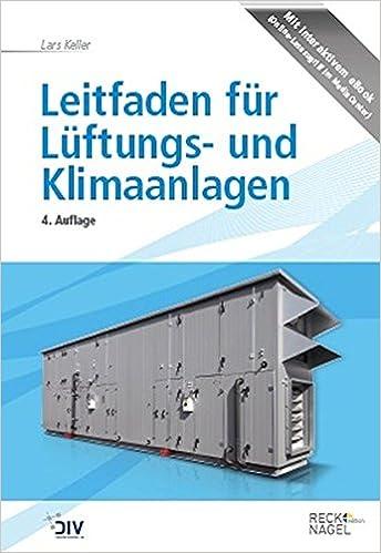 Leitfaden für Lüftungs- und Klimaanlagen Edition Recknagel: Amazon ...