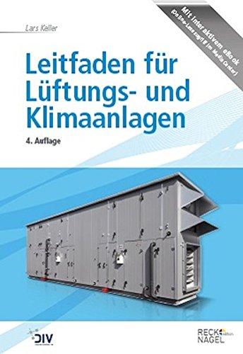 Leitfaden für Lüftungs- und Klimaanlagen (Edition Recknagel)