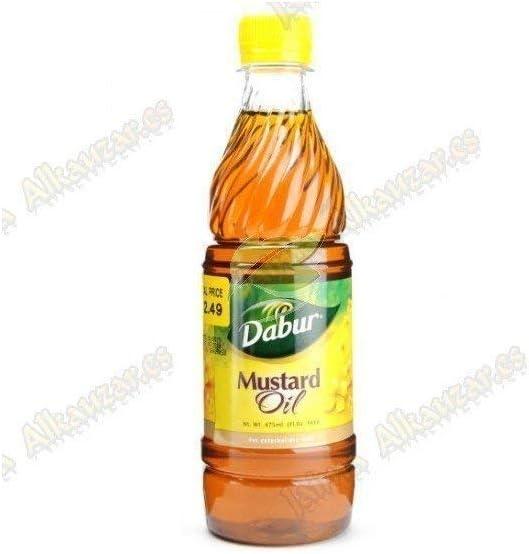 Dabur indio mostaza aceite 500ml