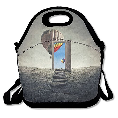 Kooiico Parasailing At Beach In Pattaya Thailand Cute Lunch Tote Lunch Bag Office Reusable (Best Shopping In Pattaya)