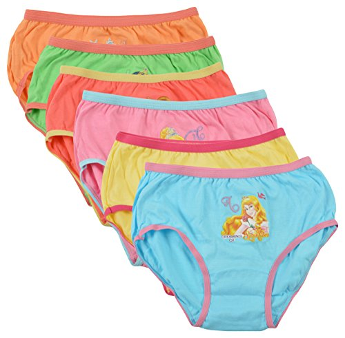 BODYCARE Girl's Cotton Panty (Pack of 6)