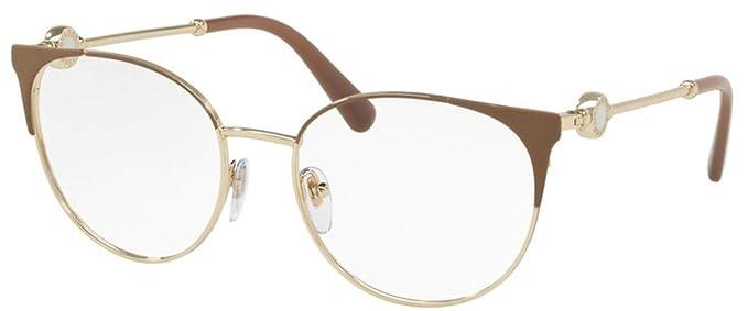 Bulgari 0BV 2203 2036 52 Gafas de Sol, Dorado (Matte ...