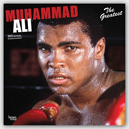 Muhammed Ali - The Greatest 2017 - 18-Monatskalender: Original BrownTrout-Kalender [Mehrsprachig] [Kalender] (Wall-Kalender)