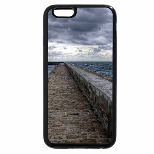 iPhone 6S / iPhone 6 Case (Black) perfect stone wave breaker