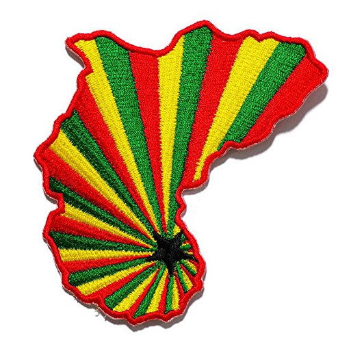 Rasta Jamaica Embroidered Sew Iron On Patch, DIY Ships and sold from Naree2016. only. Made in Thailand, Buy good quality (Dead Hollywood Stars Halloween)