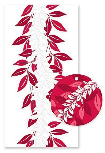 Hawaiian Candy Lei Kit Maile Red ()