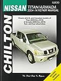 Chilton Nissan Titan/Armada 2004-2014 Repair Manual: Covers All U.s. and Canadian Modes of Titan (2004 Thru 2014) & Armada (2005 Thru 2014) Two- and ... Wiring Diagrams (Chilton's Repair Manual)