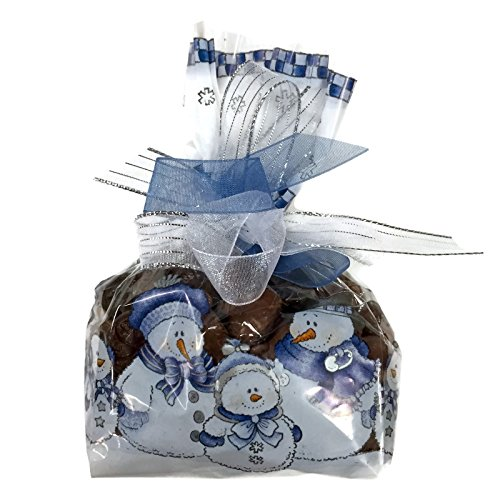 Holiday Wilbur Buds: Milk & Semisweet Dark Chocolate Buds Mixed, 8 Oz. Snowman Gift Bag (Wilbur Chocolate Buds compare prices)