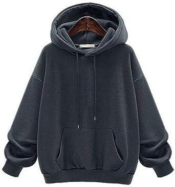 Damska bluza z kapturem Heavy Oversize, bluza z kapturem, bluza z kapturem, sweter z kapturem, bluza z długim rękawem, na jesień, zimę, dla kobiet i nastolatkÓw, dla dziewcząt - wąski 4xl: O
