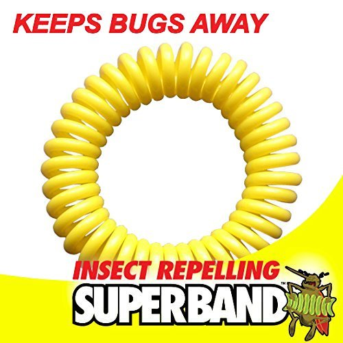 SUPERBAND 400 Pack All Natural Mosquito Repellent Bracelets - Guaranteed to Work - No Messy Lotions, Sprays, or Plastic - Fast & Easy! 30 Day Money Back Guarantee by Superband (Image #1)
