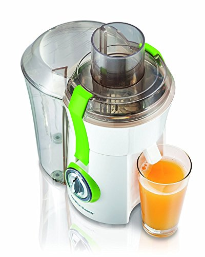 Hamilton Beach 67602A Big Mouth Juice Extractor -White