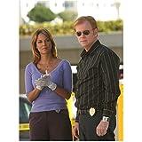 CSI: Miami Eva LaRue as Natalia Boa Vista and David Caruso as Lt. Caine 8 x 10 Inch Photo