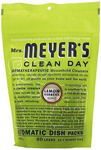 Mrs. Meyer's Clean Day Automatic Dishwashing Packs - 12.7 oz - Lemon Verbena - 2 pk