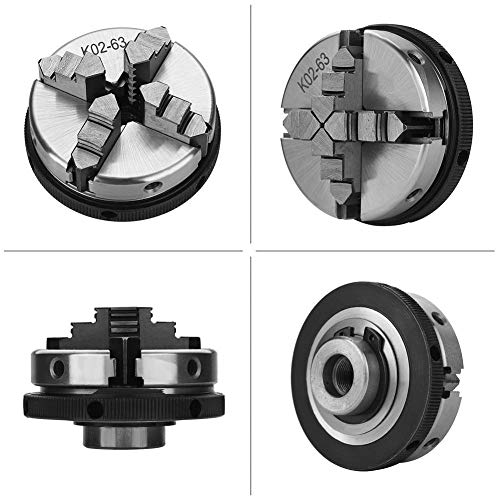 Compact Convenient 4-Jaw Self-Centering Chuck Widely Used Lathe Chuck for Industrial Machinery