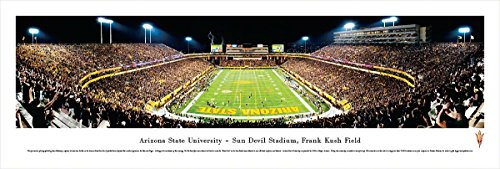 Arizona State Football - End Zone - Blakeway Panoramas Unframed College Sports Posters