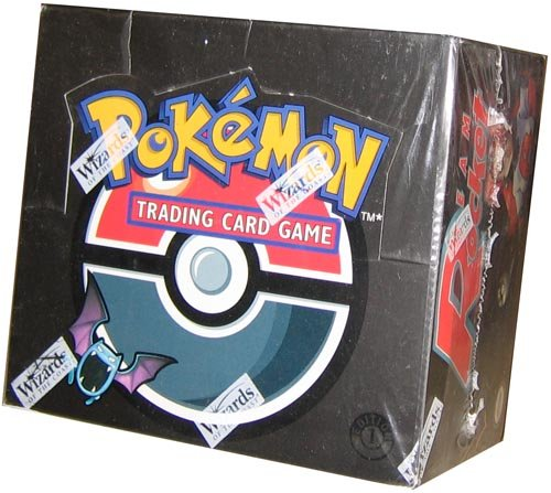 Pokemon Trading Card Game Team Rocket Booster (Unopened Booster Box)