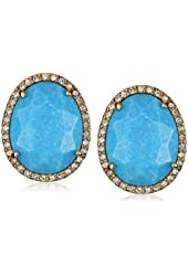 "Carolee LUX ""Barcelona Baubles"" Button Clip-On Earrings"