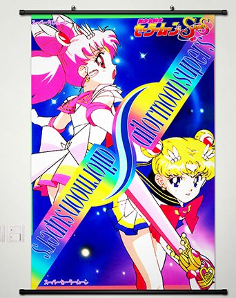 Wall Scroll Poster Fabric Painting For Anime Sailor Moon Tsu
