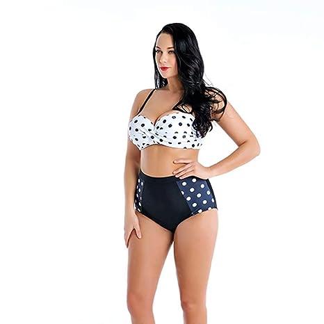 Bikini Sra. Dividida Cintura Alta Punto De Onda Traje De ...