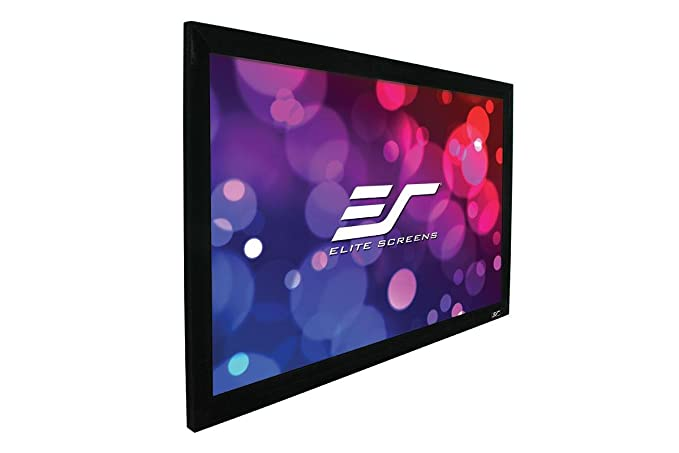 Elite Screens Ezframe 2 Series 114 Inch Diagonal 16 10 Fixed Frame Home Theater Projection Screen Model R114wx2