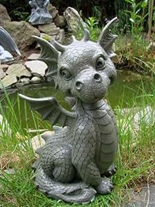 Ars-Bavaria - Figura de dragón para jardín