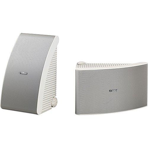 Yamaha NS-AW592WH 150 Watt 6.5-Inch Cone All-Weather Speakers (1 Pair, White)