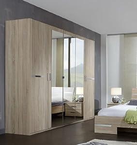 Germanica bavari bedroom furniture 5 door wardrobe in for Kitchen wardrobe colours