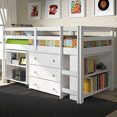 Donco Kids Low Study Loft Bed ()
