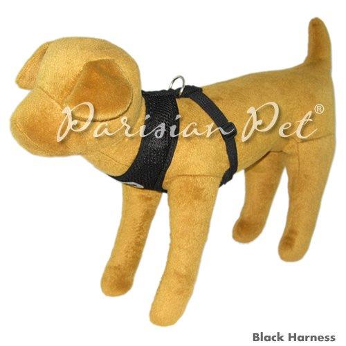 Parisian Pet Freedom Dog Harness, X-Small, Black by Parisian Pet (Image #2)
