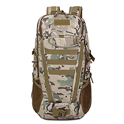 11f894e3e4 80L Rucksack Backpack Multi function Travel Duffel Day Backpack for Camping    Hiking Climbing Army Military