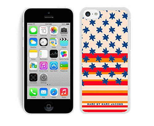 Iphone 5c Case Custom Design Marc by Marc Jacobs 14 Protective Cell Phone Cover Case for Iphone 5c White