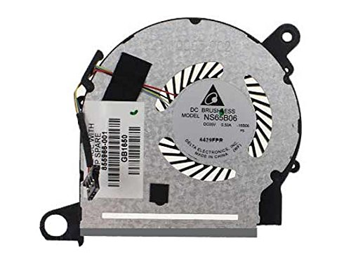 New Laptop CPU Cooling Fan Compatible HP Pavilion X360 M3-U M3-U001DX M3-U003DX M3-U101DX M3-U103DX M3-U105DX NS65B06-16B06 855966-001