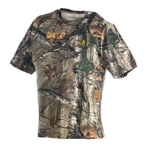 Browning Wasatch Short Sleeve T-Shirt, Realtree Xtra, Medium