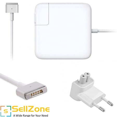 SellZone OEM Charger/Adapter for Apple MacBook Air A1466 14.85V 3.05A 45W Rectangular Magnetic Tip  Magsafe 2 . Laptop Chargers   Power Supplies