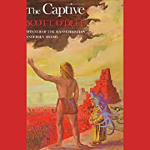 The Captive Audiobook by Scott O'Dell Narrated by Jonathan Davis