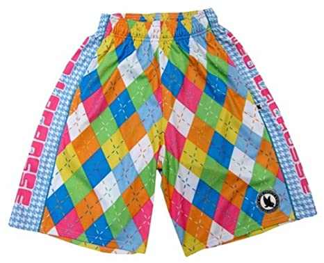 03033246 Amazon.com : Flow Society Neo Argyle Lacrosse Short, Adult Size ...