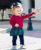 RuffleButts Baby/Toddler Girls Mulberry Ruffled