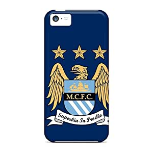 Shock-dirt Proof Man City Case Cover For Iphone 5c